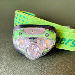 エナジャイザー(Energizer)のヘッドライト Ener gizer. オンディーヌ様専用(ライト/ランタン)
