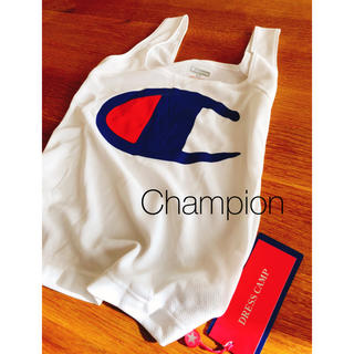チャンピオン(Champion)のお値下げ【新品未使用】Champion ドレスキャンプ タンクトップ(タンクトップ)