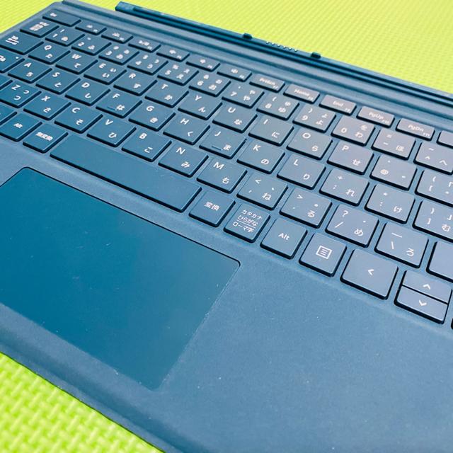 Microsoft(マイクロソフト)のマイクロソフト 【純正】 Surface Pro用 タイプカバー パープル スマホ/家電/カメラのPC/タブレット(PC周辺機器)の商品写真