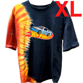☆XL☆ TRAVIS JACKBOYS RACING TIE-DYE TEE(Tシャツ/カットソー(半袖/袖なし))