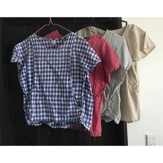 モーハウス(Mo-House)のモーハウス 授乳服 4枚セット サイズL マタニティウェア(マタニティウェア)