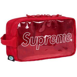 シュプリーム(Supreme)のSupreme Utility Bag 18fw Red(セカンドバッグ/クラッチバッグ)