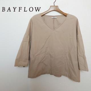 ベイフロー(BAYFLOW)のBAYFLOW ベイフロー デザインカットソー(Tシャツ(長袖/七分))