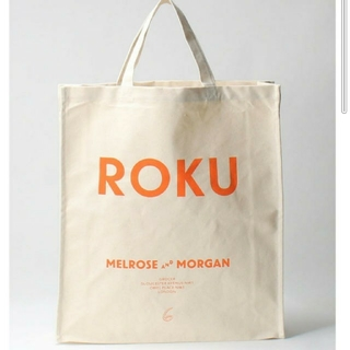 BEAUTY&YOUTH UNITED ARROWS - 人気完売 ROKU 6 メルローズアンドモーガン トートバッグ