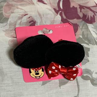 ディズニー(Disney)のヘアピン ミニーの耳(ヘアピン)