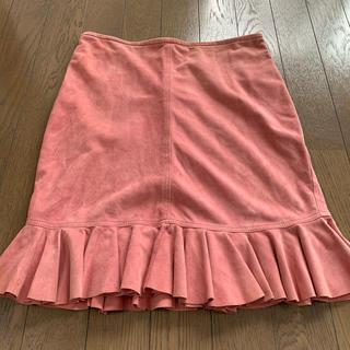 アンナモリナーリ(ANNA MOLINARI)のアンナモリナーリ 皮スカート(ひざ丈スカート)