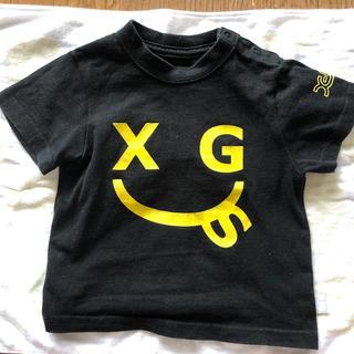 エックスガールステージス(X-girl Stages)のx-girlstages 半袖Tシャツ 2T 90(Tシャツ/カットソー)