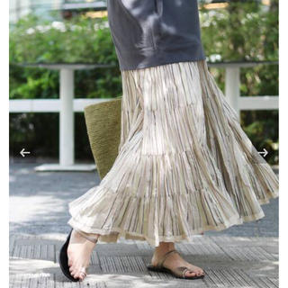 IENA - 出品6/10まで◇新品◇IENA MARIHA マリハ 草原の虹スカート
