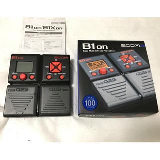 ズーム(Zoom)のzoom B1on 保証有り ベース用 マルチエフェクター(ベースエフェクター)