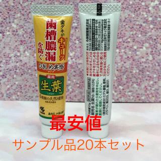 コバヤシセイヤク(小林製薬)の生葉 歯磨剤(歯磨き粉)