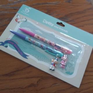 ダッフィー(ダッフィー)のsale☆ダッフィー&シェリーメイ ボールペン (キャラクターグッズ)