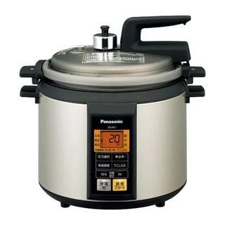 パナソニック(Panasonic)のパナソニック マイコン電気圧力なべ SR-P37-N(調理機器)