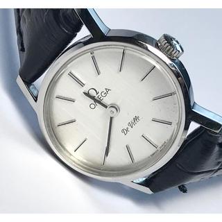 OMEGA - 【OMEGA オメガ】デビル シルバー文字盤 アンティーク腕時計 手巻