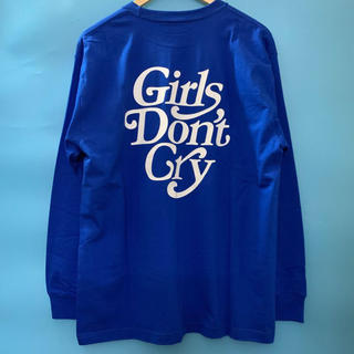 GDC - Girls Don't Cry LOGO ロンT 長袖Tシャツ
