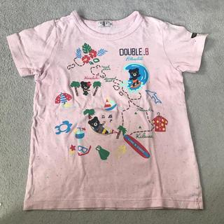 DOUBLE.B - ★美品★ DOUBLE.B Tシャツ 120センチ ミキハウス ハワイ柄
