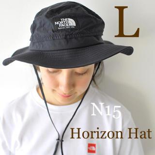 ザノースフェイス(THE NORTH FACE)の【L】ノースフェイス★ホライズンハット★ブラック★NN41918(ハット)