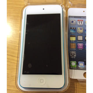 アイポッドタッチ(iPod touch)の【 ゆきの様専用】Apple iPod touch 32GB 第5世代 ブルー (ポータブルプレーヤー)