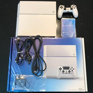 プレイステーション4(PlayStation4)の美品 SONY PlayStation4 本体 CUH-1100AB02 PS4(家庭用ゲーム機本体)