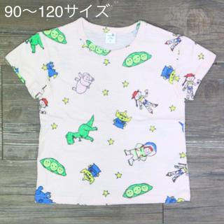値下げ❤︎トイストーリーTシャツ ピンク 90〜120サイズ(Tシャツ/カットソー)