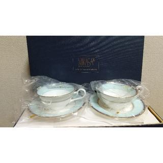 ミカサ(MIKASA)の MIKASA ミカサ カップ&ソーサ  ペア―  未使用 品(食器)