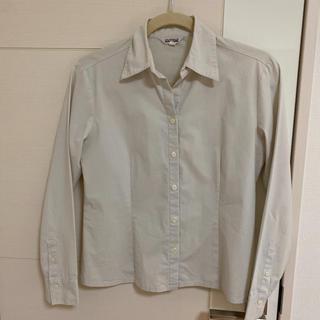 アルファキュービック(ALPHA CUBIC)の白シャツ(シャツ/ブラウス(長袖/七分))