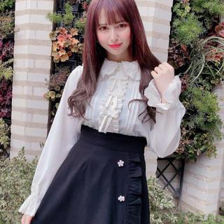 Ank Rouge - Ank Rouge☆最新☆新品☆3つリボンレースブラウス☆オフホワイト☆