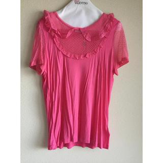 レッドヴァレンティノ(RED VALENTINO)の新品 未使用 RED VALENTINO レッド ヴァレンティノ ドットTシャツ(Tシャツ(半袖/袖なし))