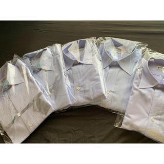 鎌倉シャツ ブルー系 ワイシャツ 5点セット 40-82