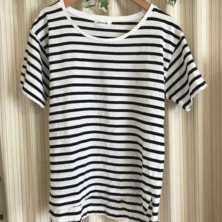 レプシィム(LEPSIM)のボーダーT(Tシャツ/カットソー(半袖/袖なし))