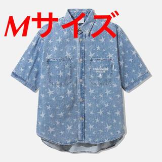 GU × STUDIO SEVEN デニムワークシャツ ブルー サイズM
