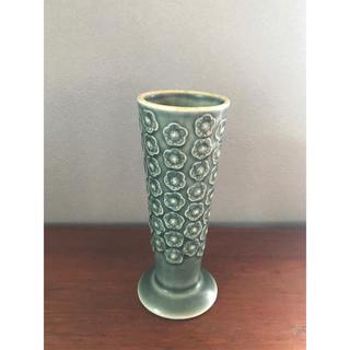アラビア(ARABIA)のクイストゴー Azur アズール  フラワーベース&キャンドルホルダー①(花瓶)