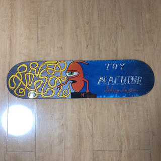 トイマシーン(Toy Machine)のラクマ特別価格【TOY MACHINE】Chatter Deck  8inch(スケートボード)