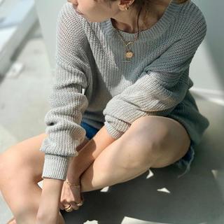 L'Appartement DEUXIEME CLASSE - L'Appartement Linen Boys Knit  新品