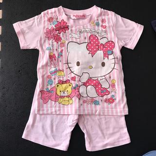 ハローキティ(ハローキティ)のHello kitty★ パジャマ  半袖 100cm(パジャマ)