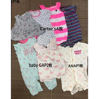 babyGAP - 女の子ロンパース⭐︎7枚セット