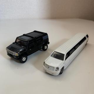 タカラトミー(Takara Tomy)のトミカ ミニカー 2台 ハマー キャデラック リムジン(ミニカー)