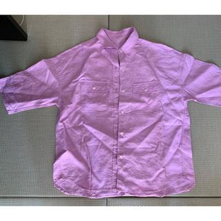 デミルクスビームス(Demi-Luxe BEAMS)のデミルクスビームス  リネンシャツ(シャツ/ブラウス(半袖/袖なし))