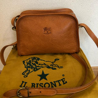 IL BISONTE - イルビゾンテ ショルダーバッグ 牛革