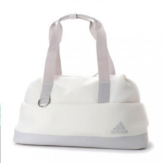 アディダス(adidas)のアディダス VFA 2way スポーツ ボストンバッグ ホワイト adidas(ボストンバッグ)