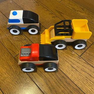 イケア(IKEA)のIKEA LILLABO おもちゃののりもの(電車のおもちゃ/車)