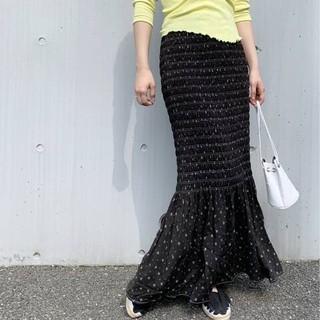 EDIT.FOR LULU - EDIT.FOR LULUヴィンテージミニフラワープリント シャーリングスカート