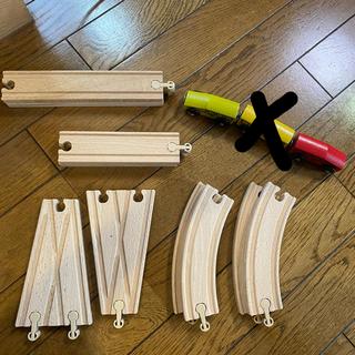 イケア(IKEA)のIKEA LILLABO レールのセット(電車のおもちゃ/車)