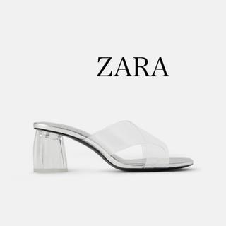 ZARA - 《新品未使用》ZARA クリアサンダル 35