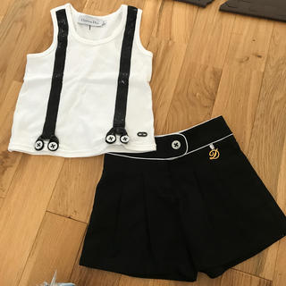 クリスチャンディオール(Christian Dior)のクリスチャンディオール セット(Tシャツ/カットソー)