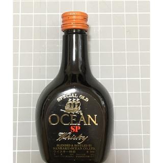 OCEAN SP Whisky 三楽オーシャン ウイスキー ミニチュアボトル(ウイスキー)