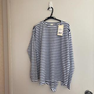 エンフォルド(ENFOLD)の新品未使用タグ付きナゴンスタンス Tシャツ(Tシャツ(長袖/七分))