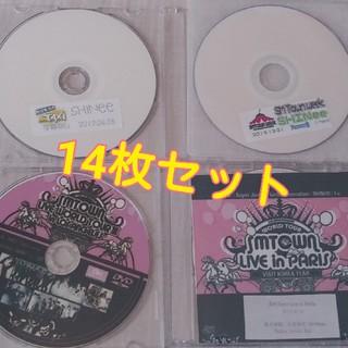 シャイニー(SHINee)のSHINee DVDとおまけCD 全14枚 セット(K-POP/アジア)