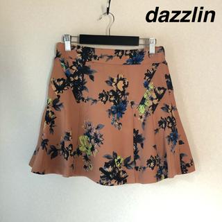 ダズリン(dazzlin)の新品未使用 花柄スカート(ミニスカート)