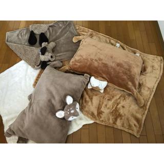 コストコ milacles 3店セット ブランケット クッション(毛布)