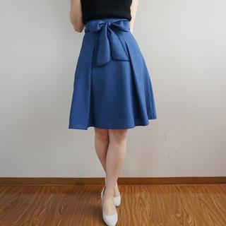 PROPORTION BODY DRESSING - プロポのカラーライクリネンスカート